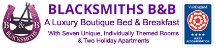 Blacksmiths Boutique Bed & Breakfast 4 Star Rated Accommodation By Visit England