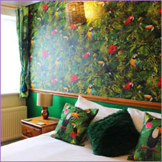Tropical Nights Room at Blacksmiths Boutique Bed and